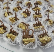 Copinhos de chocolate