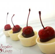 Copinho de Chocolate com cereja